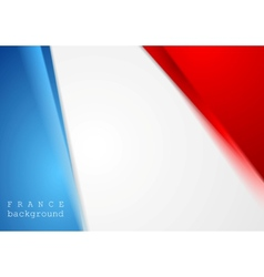 Corporate bright abstract background French vector image