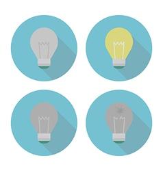 Lightbulbset vector