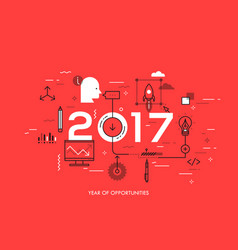 Hot trends and prospects in idea creation vector