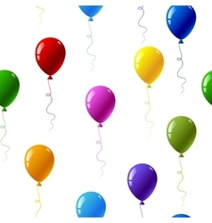 Colourful balloons vector