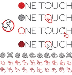 One touch vector