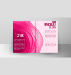 catalog cover design corporate business vector image vector image
