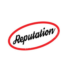 Reputation rubber stamp vector