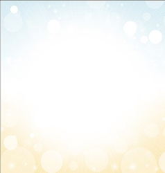 summer background - soft colored blur of sea sky vector image vector image