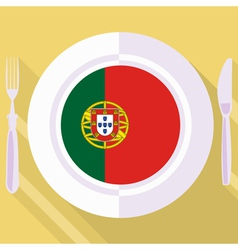 Kitchen of portugal vector