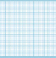 Blue metric graph paper seamless pattern vector