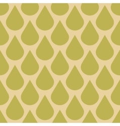 Drops seamless pattern in fall colors vector