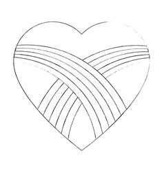 Heart and love vector