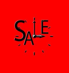 Sales event square red retro vector