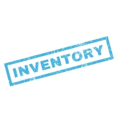 Inventory rubber stamp vector