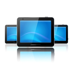 computer tablets vector image