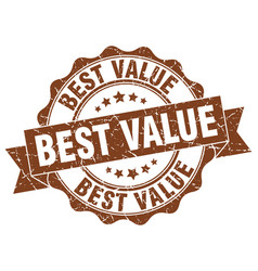 Best value stamp sign seal vector