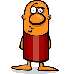 Confused guy cartoon vector