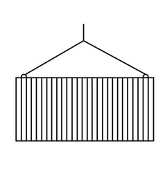 container icon vector image