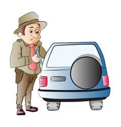 Highway patrol vector
