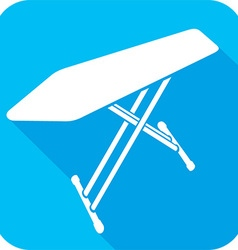 Ironing Board Icon vector image vector image