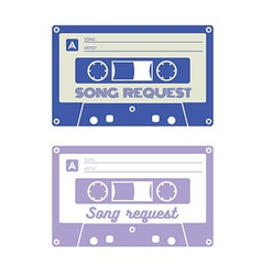 Song request card vector