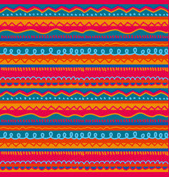 Red and pink childish stripe seamless pattern vector
