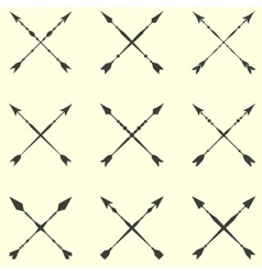 Arrow clip art set in on white background vector image