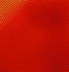 red halftone banner vector image vector image
