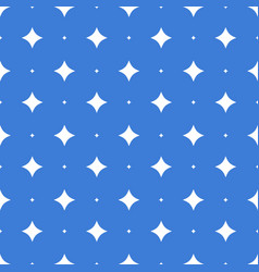 seamless stars pattern seamless on blue background vector image