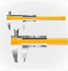 sliding calliper vector image