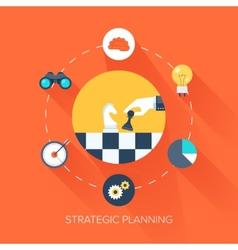 Strategic Planning vector image