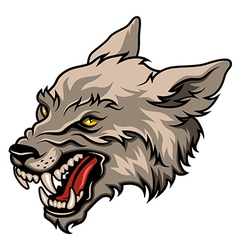 Werewolf color vector