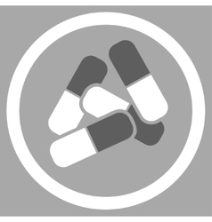 Drugs icon vector