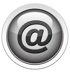 Email eta button vector