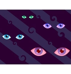 Eyes pattern vector