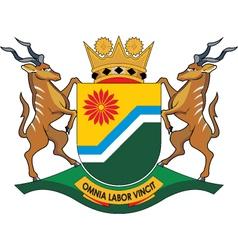 Mpumalanga Province vector image vector image