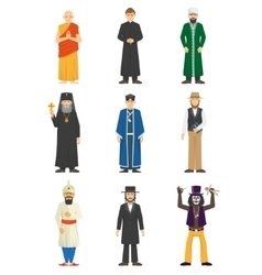 Religion confession people vector