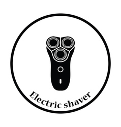 Electric shaver icon vector