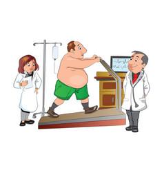 Physical checkup vector