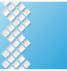 Abstract background with numbers vector