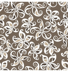 Excellent seamless floral background vector