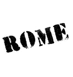Rome stamp rubber grunge vector image