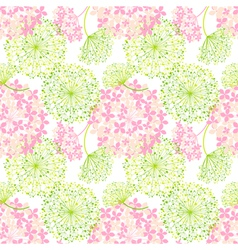 Springtime colorful flower seamless pattern vector