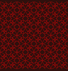 lace seamless pattern 2501 vector image