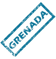Grenada rubber stamp vector