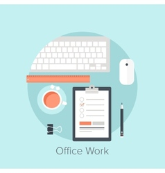 Office work vector