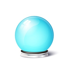Isolated magic spiritual ball vector