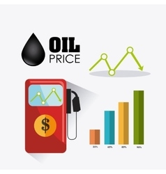 Petroleum and oil industry infographic design vector