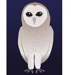 Barn owl vector image vector image