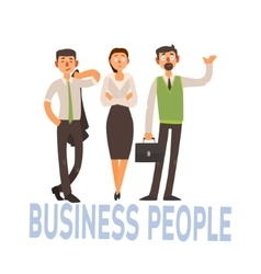 Business people set 2 vector