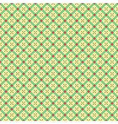 Geometrical Grid Pattern vector image vector image