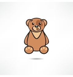 Surprised bear vector image vector image