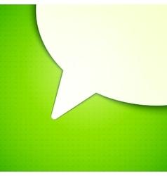 Talk Bubble Background vector image