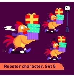 Set includes three running vector